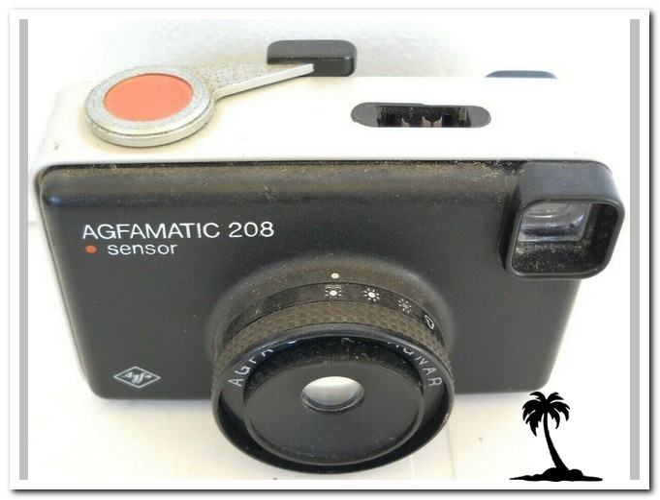 Agfa-Agfamatic 208 Sensor